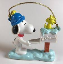 Animated Snoopy Mailbox Christmas Decoration by Snoopy Mailbox Ebay