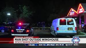Winghouse by Man Shot At Winghouse In Ocala