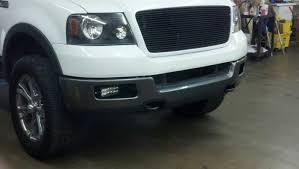 2004 f150 fog lights light bars in the stock fog lights mount ford f150 forum