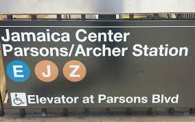 Q31 Bus Map Mta New York City Subway R160 E J Trains Jamaica Center