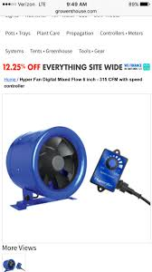 hyper fan 10 inch what is the most silent fan l and air pump grasscity forums