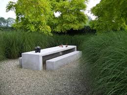 Cool Garden Bench Image Result For Polished Concrete Courtyard Pebble Garden