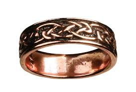 celtic knot ring copper celtic knot ring