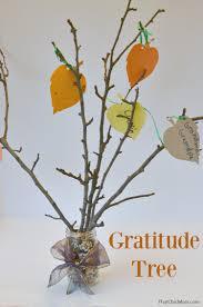 that chic diy gratitude tree thanksgiving craft