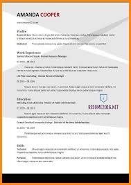 Best Resume Format 2013 by 10 Best Cv Format 2017 Reporter Resume