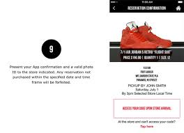 foot locker app sneaker reservation how to guide sneakernews com