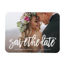 save the dates magnets save the date refrigerator magnets zazzle