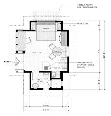 cottage floor plans home with guest house incredible images design