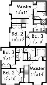 corner lot duplex plans corner lot duplex house plans house and home design