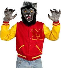 musical monster costumes thriller werewolf costume