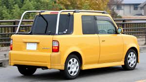 yellow toyota truck file toyota bb open deck 004 jpg wikimedia commons