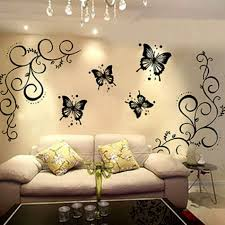 collection of 7 diy butterfly pattern wall decor design house