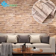 Modern Brick Wall by Aliexpress Com Buy 60cmx5m Modern Self Adhesive Wallpaper Brick
