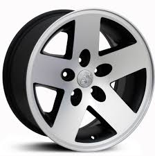 jeep wheels white jeep wrangler jp18 factory oe replica wheels u0026 rims