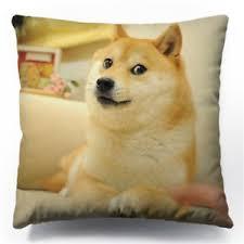 Such Meme - cute wow such face meme funny dog shiba inu reddit cushion pillow 2
