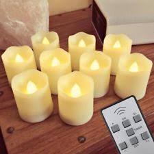 fake tea light candles lacandle 004 remote controled unscented flameless tea light led