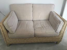 Rattan Settee Set Of M U0026s Rattan Sofas In Lower Kingswood Surrey Gumtree