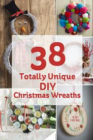 38 totally unique diy christmas wreaths hobbycraft blog