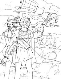 jamestown coloring images reverse search
