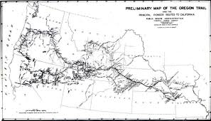 Highway Map Of Oregon by Oregon Trail