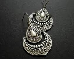 Chandelier Earrings Etsy Moroccan Earrings Etsy