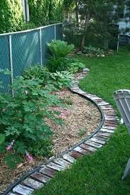 Border Ideas For Gardens Flower Garden Edging Ideas Garden Bed Edging Ideas Landscaping