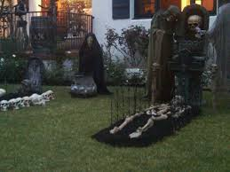 homemade outdoor halloween decorations ideas great halloween
