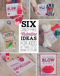 kids valentines gifts 6 candy free ideas for kids three monkeys studio