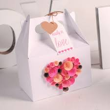 Valentine Decorated Boxes Ideas by Decorating A Gift Box For Valentine U0027s Day Is Not An Easy Thing
