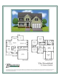 traditional two story home plans
