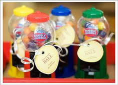 gumball party favors mini gumball machines personalized party favors