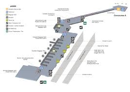 Florida Airport Map Terminal Maps Palm Beach International Airport