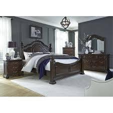 king poster bedroom set liberty furniture messina estates 5 piece king poster bedroom set