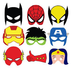 super cute masks photo booth goodie bags mascaras