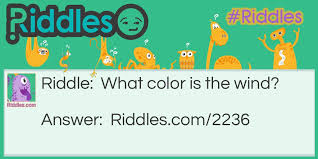 Color Of The Wind Riddles Com
