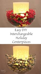 Easy Centerpieces How To Make An Easy Diy Holiday Centerpiece For All Seasons