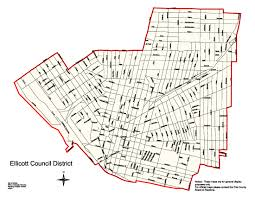New York City Council District Map by Home