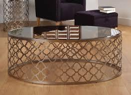 smoked glass coffee tables uk modern round honeycomb effect coffee table with smoked glass top