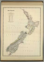 New Zealand Map New Zealand David Rumsey Historical Map Collection