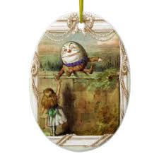 humpty dumpty ornaments keepsake ornaments zazzle