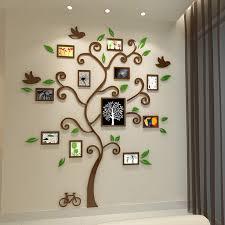 aliexpress buy beautiful photo frame tree design 3d acrylic
