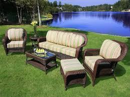 Green Wicker Patio Furniture - patio 14 ty pennington patio furniture resin wicker patio