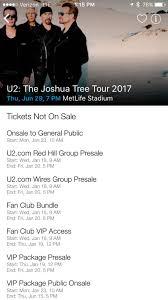 u2 fan club vip access u2start com joshua tree tour ticket talk