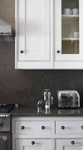gray kitchen walls with white cabinets neutral kitchen