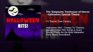 the simpsons treehouse of horror halloween special theme youtube