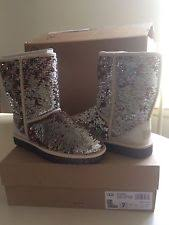 ugg womens glitter boots gold sparkle uggs boots ebay