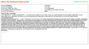 Tire Technician Job Description Resume Tire Technician Cover Letter