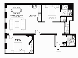 2 bedroom apartment floor plan uk