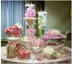 Candy Tables Ideas Pink Candy Buffet Ideas Pink Dessert Buffet Ideas