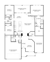 New Floor Plans by Floor Plan Grantham New Home In Pearson Place At Avery Ranch